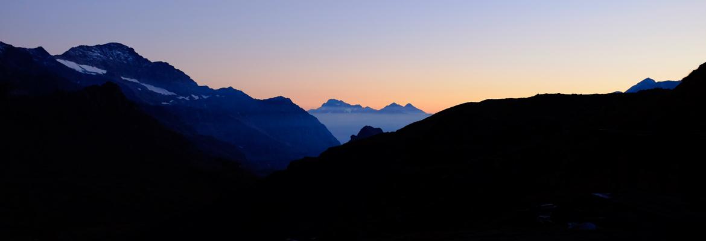montagna vista sud