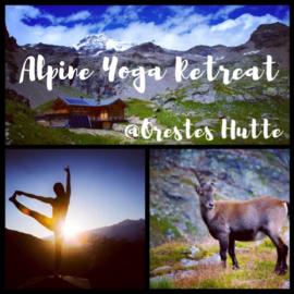 Surya Alpine Yoga Philosophy: ALPINE YOGA RETREAT 3-5 AGOSTO 2018