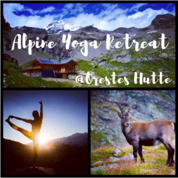 Surya Alpine Yoga Philosophy: ALPINE YOGA RETREAT 3-5 AGOSTO 2018