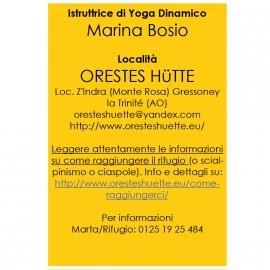 Yoga in Rifugio Aprile
