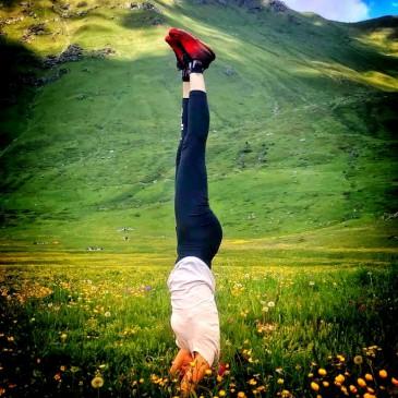 Escursionismo & yoga ai piedi del Monte Rosa